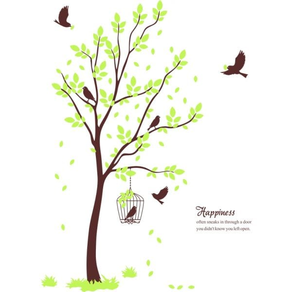 Sticker perete Tree of Happiness