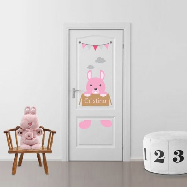 Sticker decorativ usa Bunny