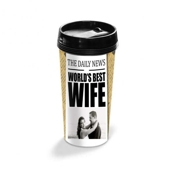 Cana termos personalizata World's Best Wife 1