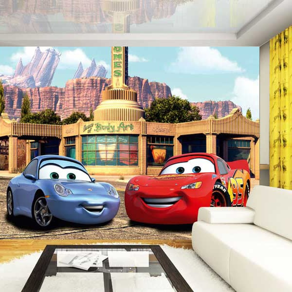 Fototapet Disney Cars McQueen si Sally