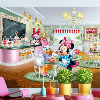 Fototapet Disney Minnie si Daisy Duck