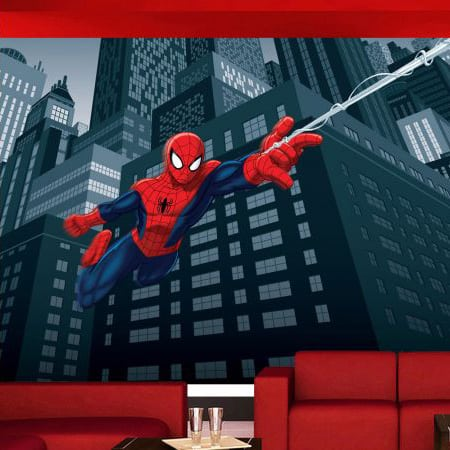 Fototapet Disney Spiderman in actiune