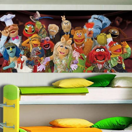Fototapet Disney The Muppets Personaje
