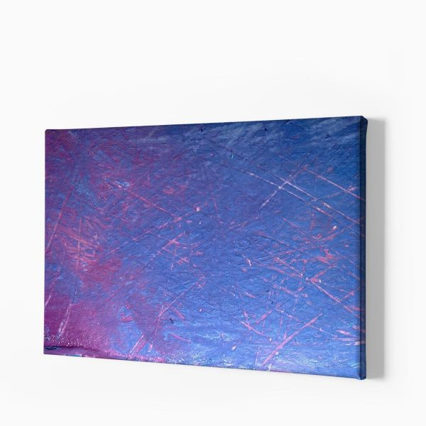 Tablou canvas Blue and Purple