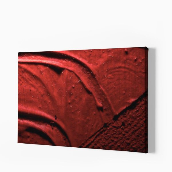 Tablou canvas Blurry Red