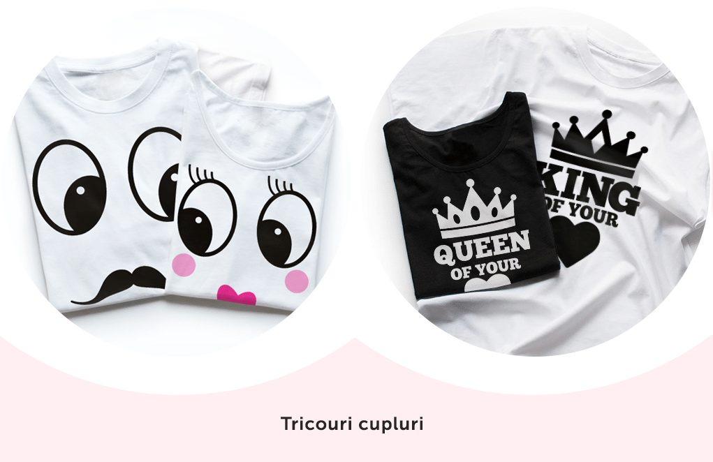 tricouri cupluri customT