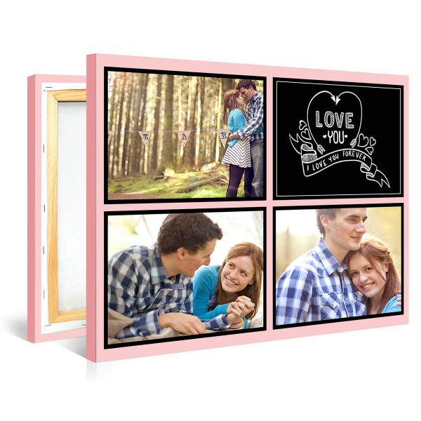 Tablou personalizat canvas Love Forever