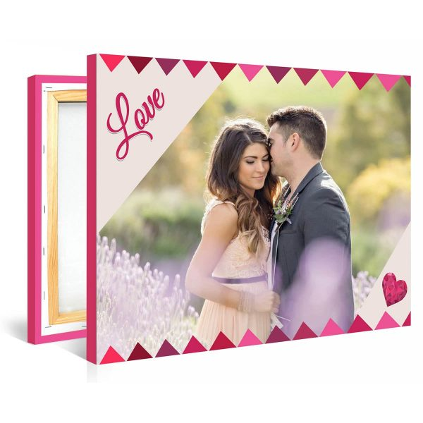 Tablou personalizat canvas Love Me