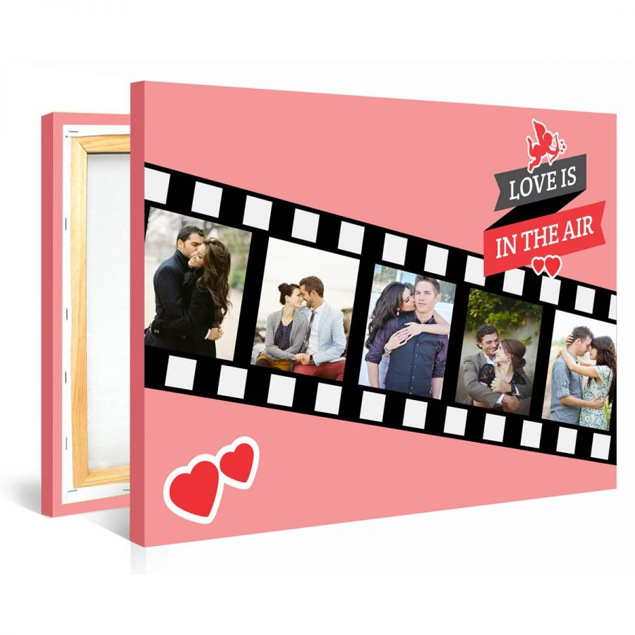 Tablou personalizat canvas Love is in the Air