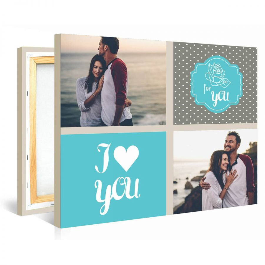 Tablou personalizat canvas My Valentine