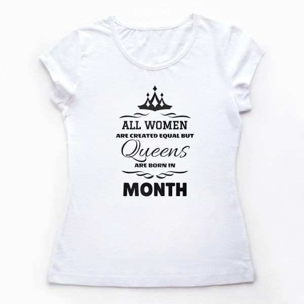 Tricouri aniversare Month of the Queen 2