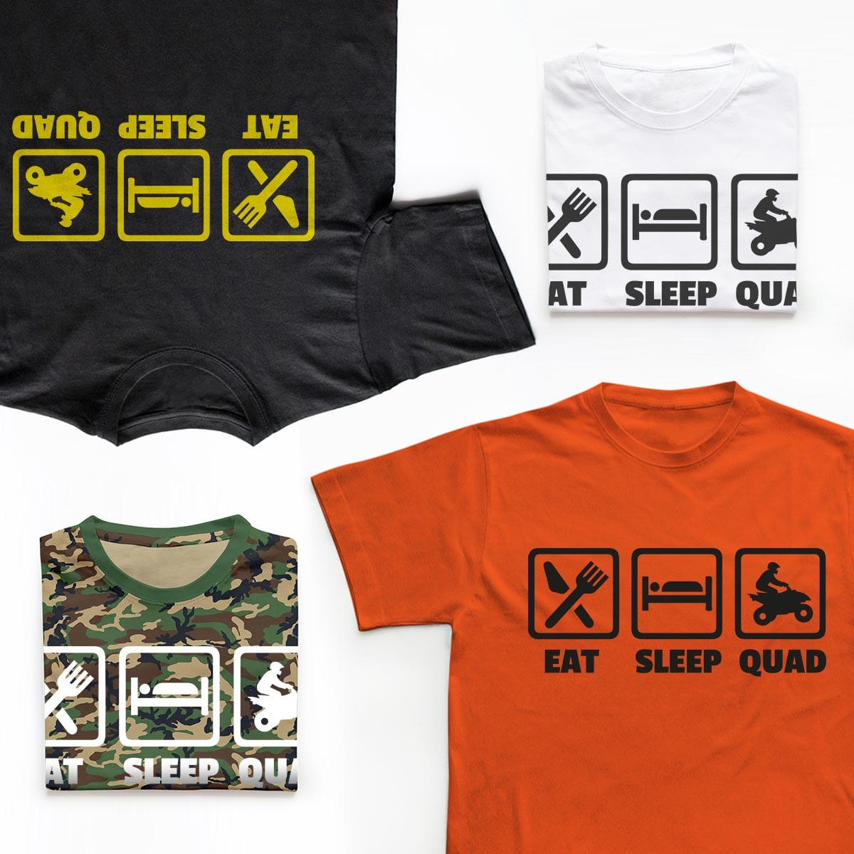 Tricouri ATV Eat, Sleep, Quad 5