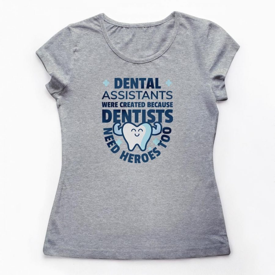 Tricouri stomatologi Dental Assistant Ea 3