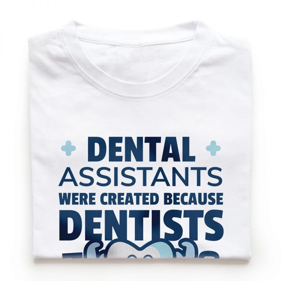 Tricouri stomatologi Dental Assistant El 13