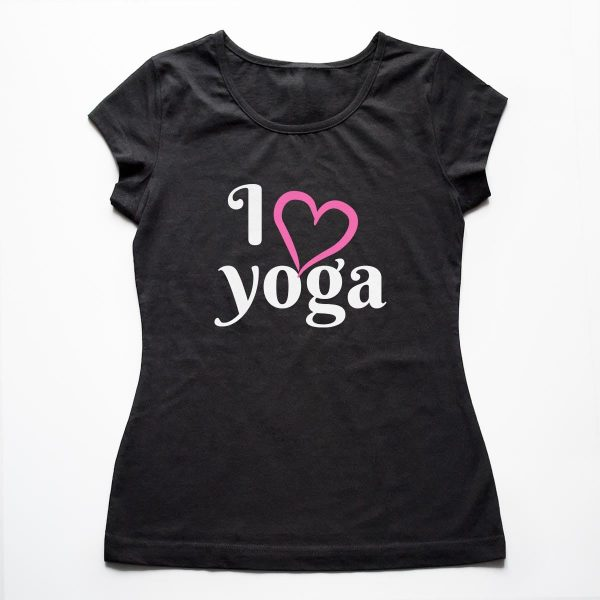 Tricouri yoga I Love Yoga 1