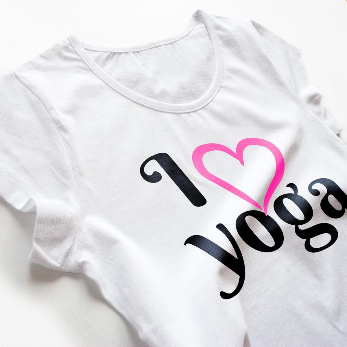 Tricouri yoga I Love Yoga 2