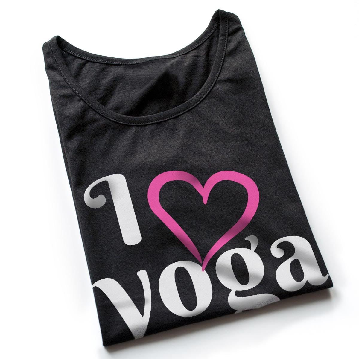 Tricouri yoga I Love Yoga 3