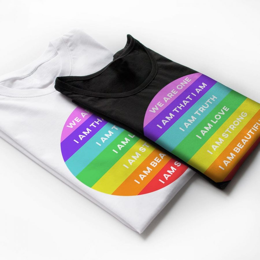 Tricouri yoga Rainbow - 2 customT.ro