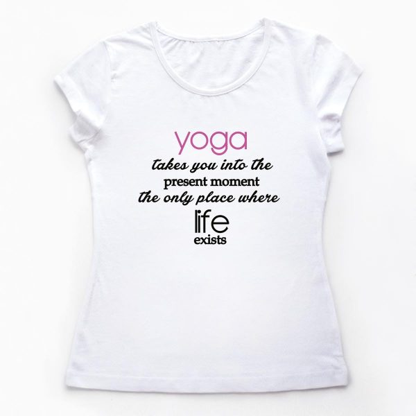 Tricouri yoga Relaxed Life - 1 customT.ro