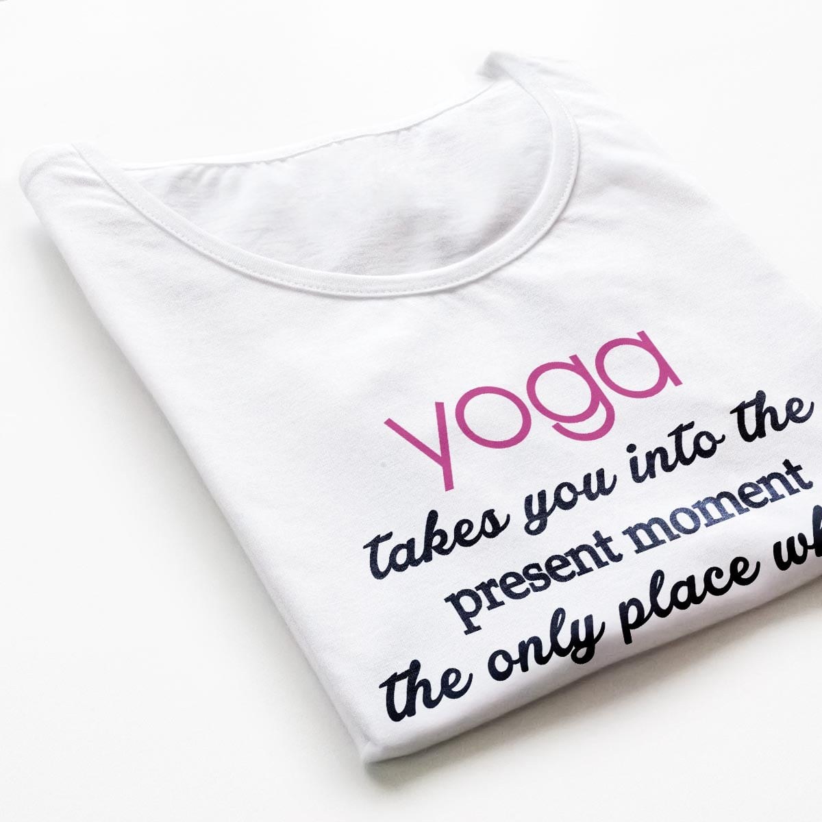 Tricouri yoga Relaxed Life - 3 customT.ro