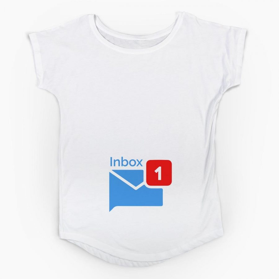 Tricou gravide Inbox 4