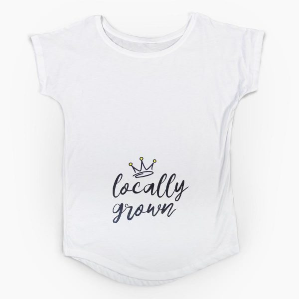 Tricou gravide Locally grown 4