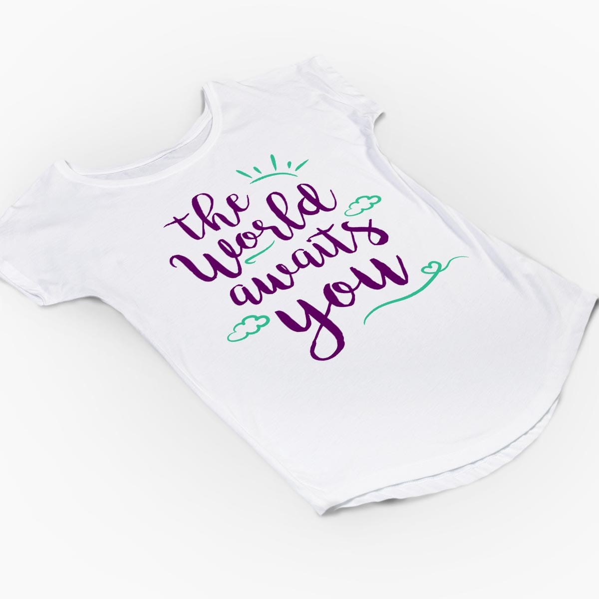 Tricou gravide The World Awaits You 6