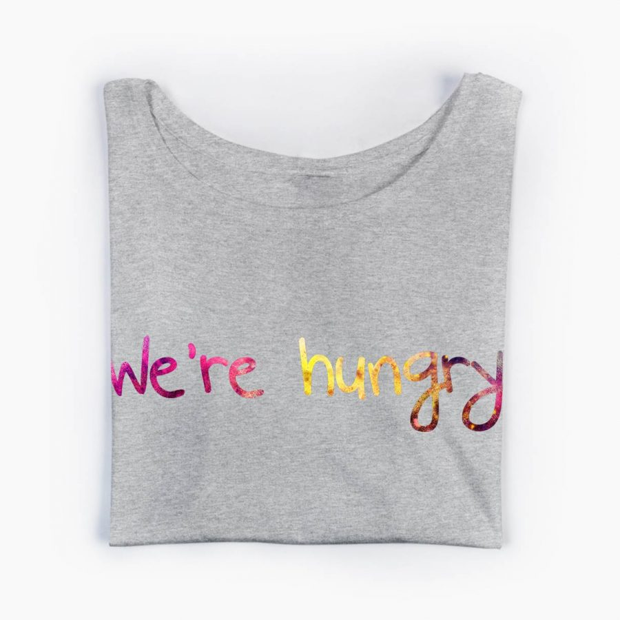 Tricou gravide We're hungry -4 tiparo.ro