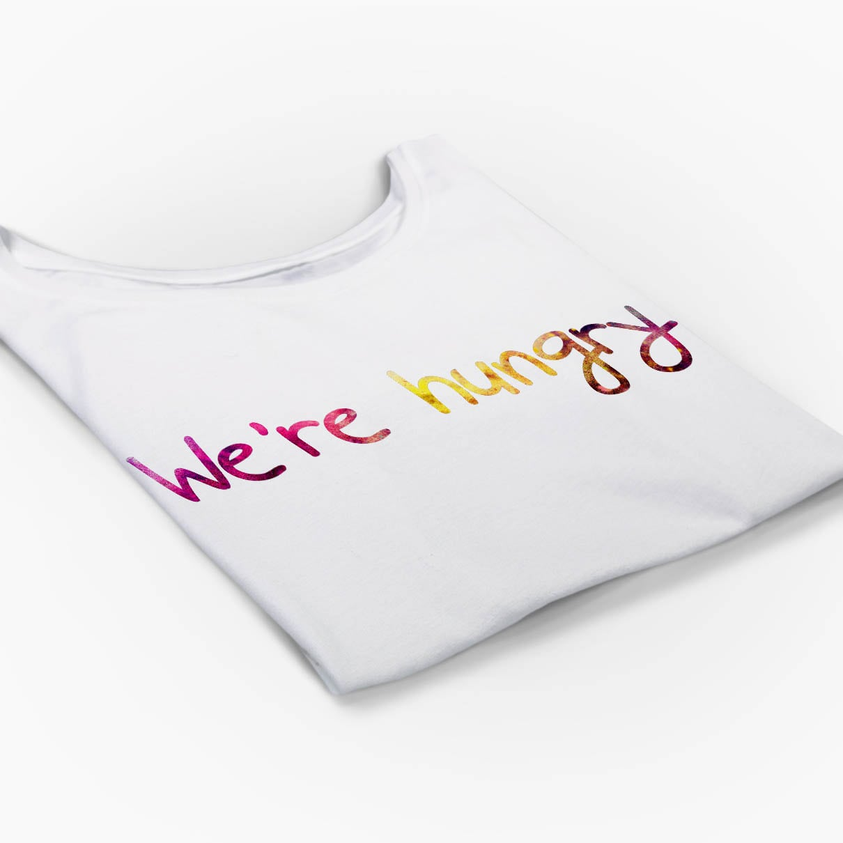 Tricou gravide We're hungry -5 tiparo.ro