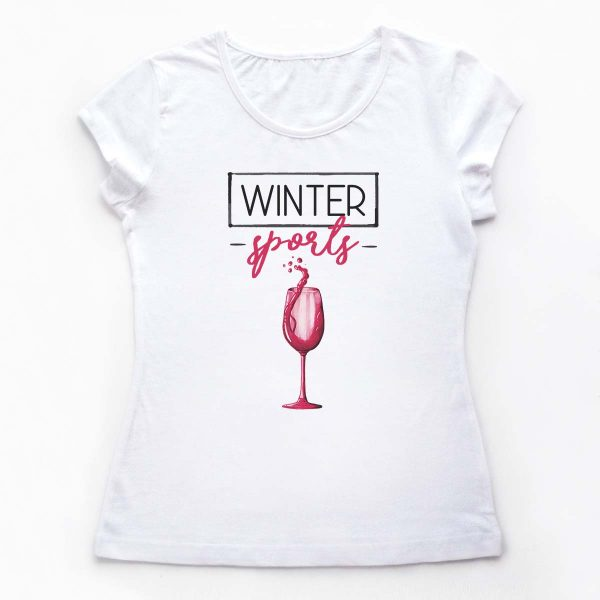 Tricouri schi Winter Sports Wine 1