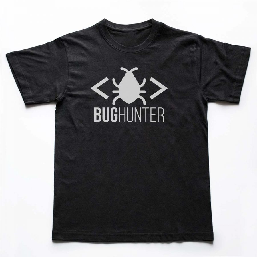 Tricou Programatori Bug Hunter 2