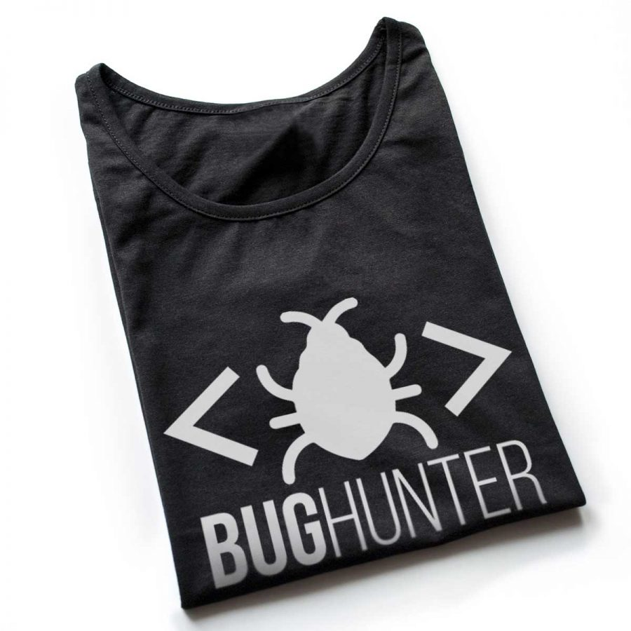 Tricou Programatori Bug Hunter 6