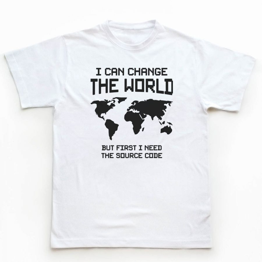 Tricou Programatori Change The World 1