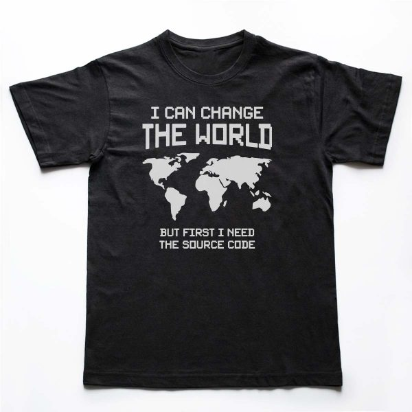 Tricou Programatori Change The World 2