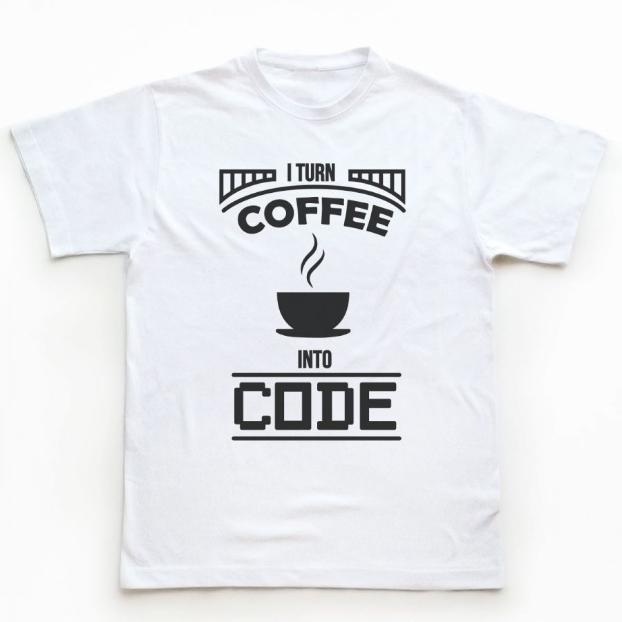 Tricou Programatori I Turn Coffee 1