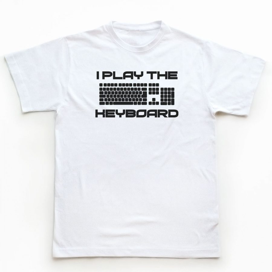 Tricou Programatori I play the Keyboard (1)