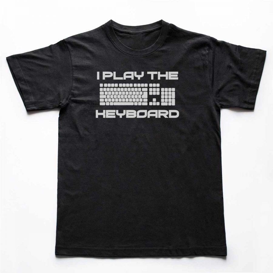 Tricou Programatori I play the Keyboard (2)