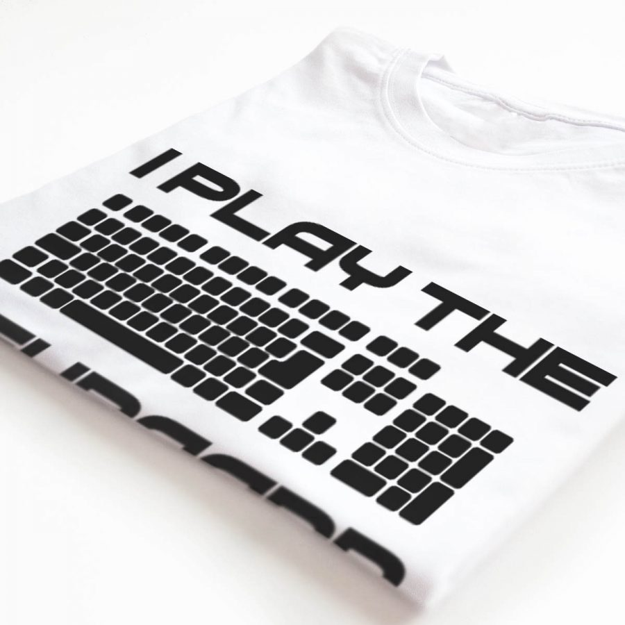 Tricou Programatori I play the Keyboard (6)