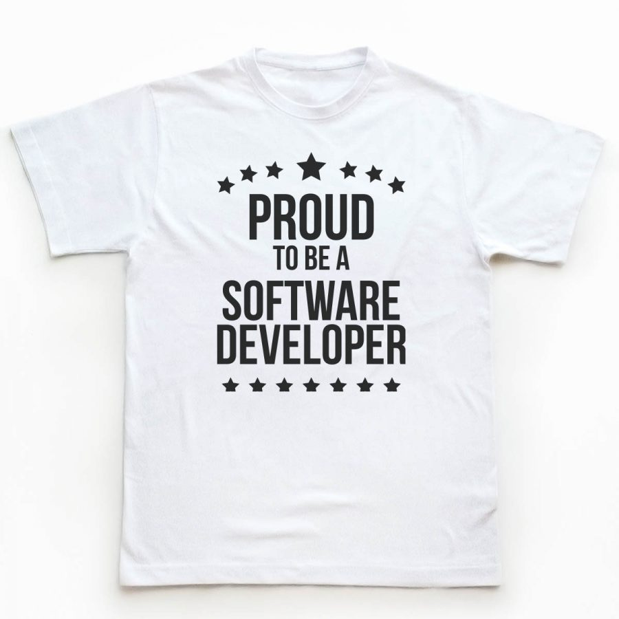 Tricouri Programatori - Proud Developer 1