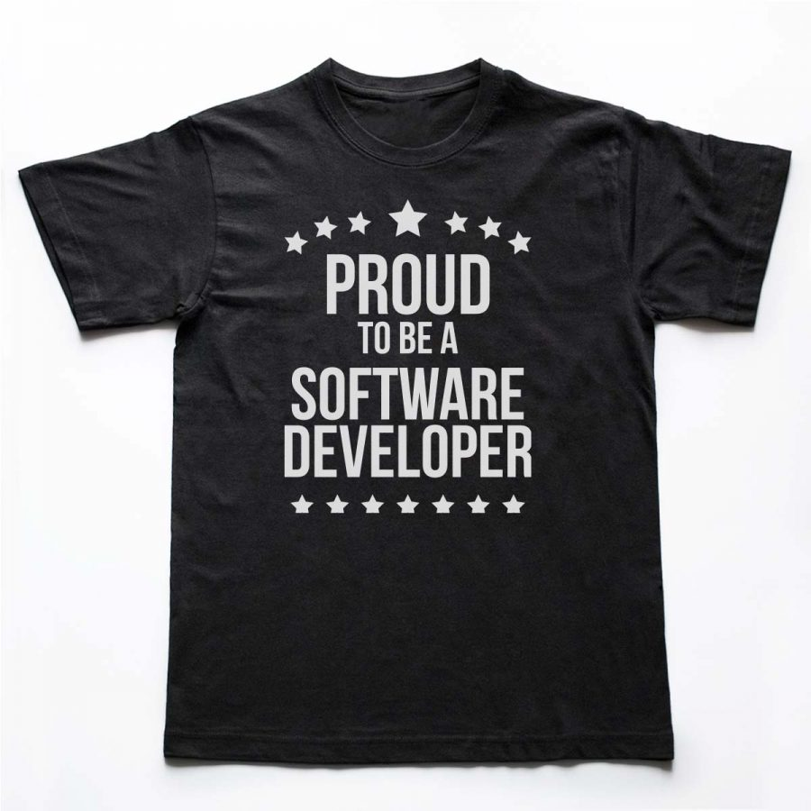Tricouri Programatori - Proud Developer 2