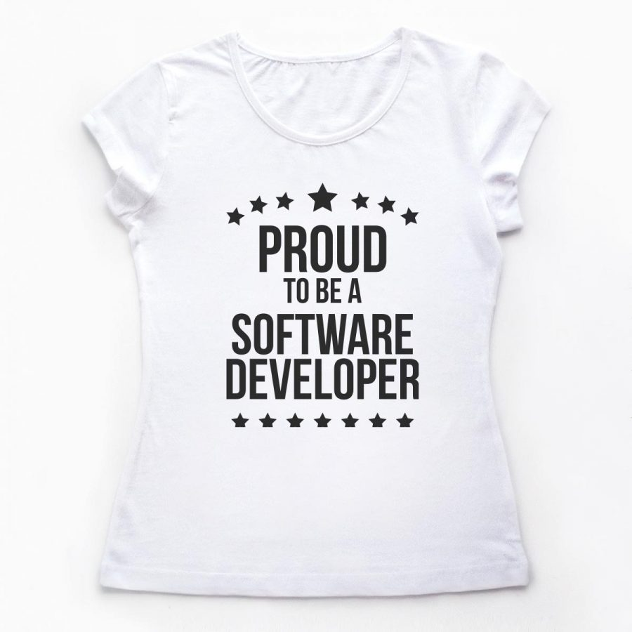 Tricouri Programatori - Proud Developer 3