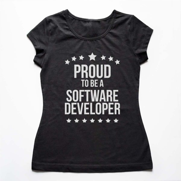Tricouri Programatori - Proud Developer 4