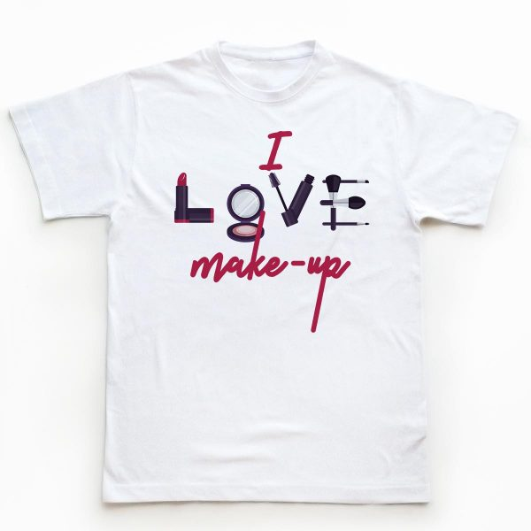 Tricouri make-up artisti I Love Make-up