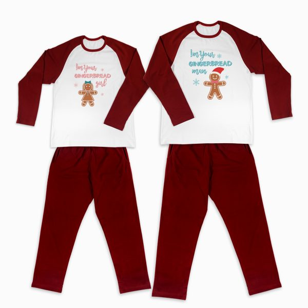 Pijamale Personalizate Cupluri Gingerbread Couple