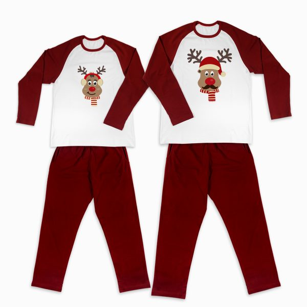 Pijamale Personalizate Cupluri Red Nose