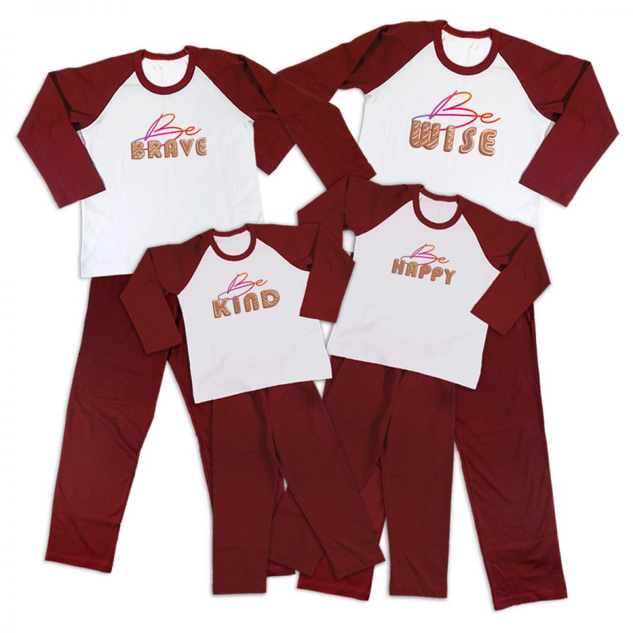 Pijamale Personalizate Familie Be You