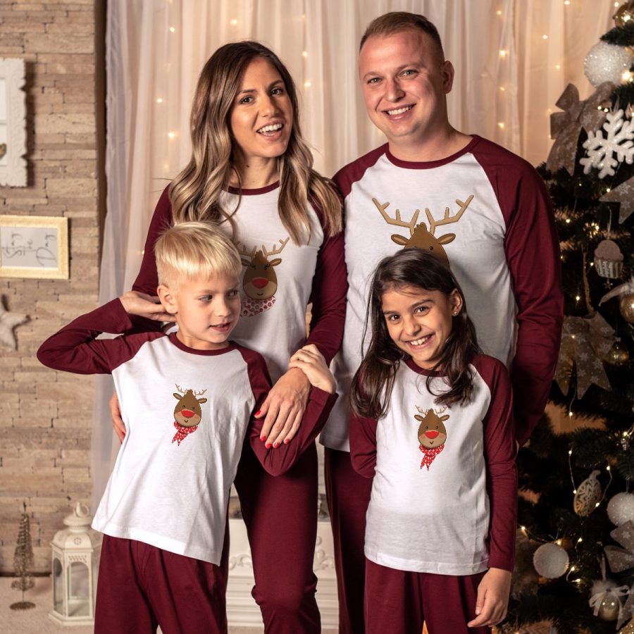 Pijamale Personalizate Familie It's cold outside