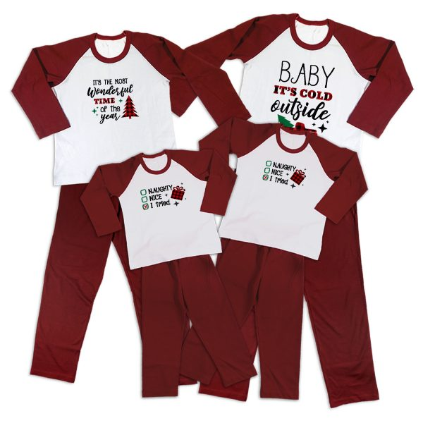 Pijamale Personalizate Familie Wonderful Time