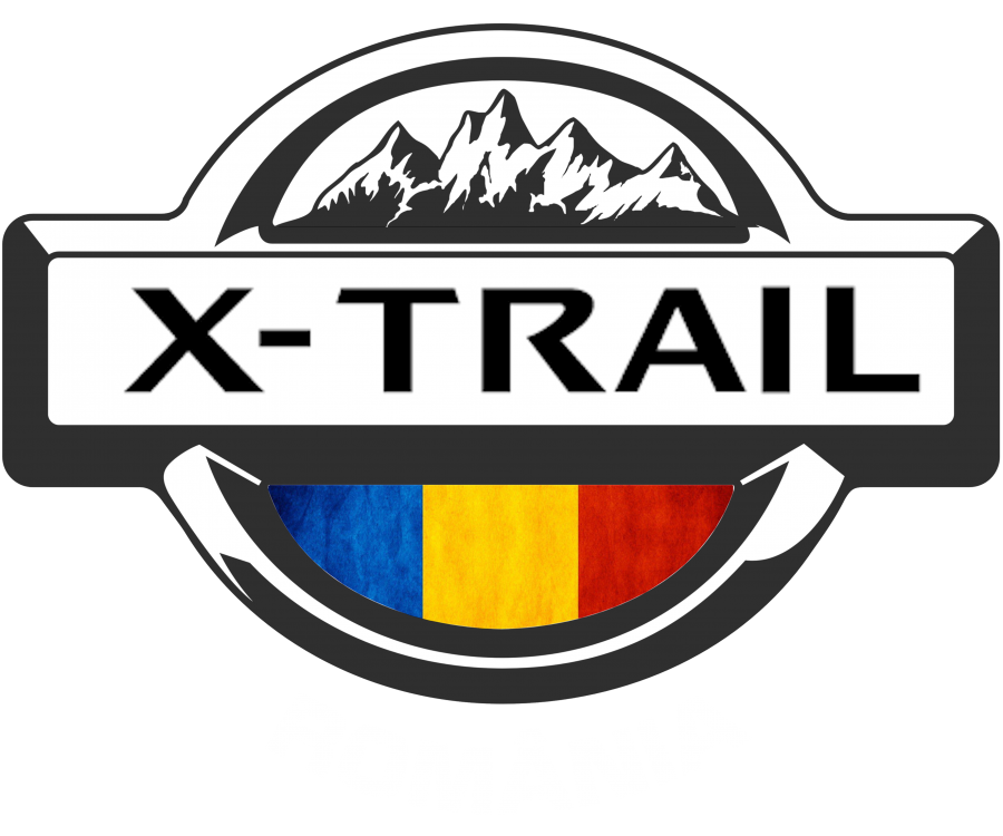 Sticker auto Nissan X-Trail Romania 15x12 cm