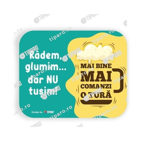 Stickere preventie horeca radem si glumim orizontal